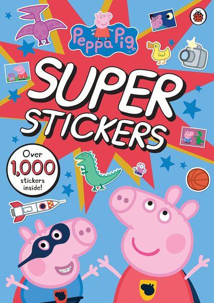Peppa Pig:Super Stickers 佩佩豬貼紙活動書