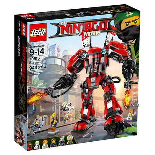 樂高積木 LEGO《 LT70615 》 NINJAGO 旋風忍者系列 - 忍者火焰機甲人╭★ JOYBUS玩具百貨