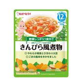 日本 KEWPIE VA-2 日式金平煮蔬菜隨行包(12個月以上適用)