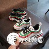 兒童運動鞋新款童鞋板鞋跑步鞋女童鞋鞋透氣網鞋-奇幻樂園