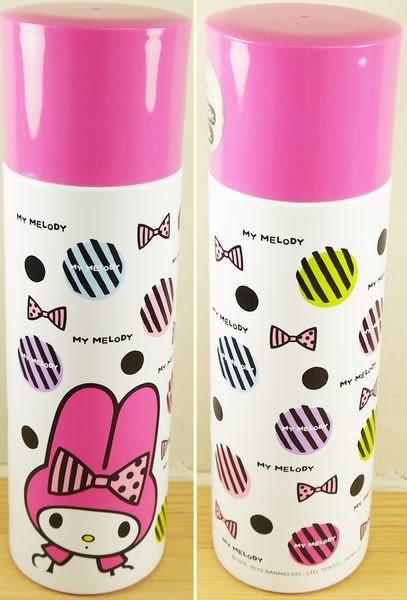 日本正版 美樂蒂不鏽鋼保冷水壺 保溫水壺直飲式杯蓋 370ml 2WAY 217074 母親節 特價 促銷 清倉