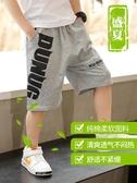 男童夏季中褲兒童2020新款中大童純棉運動五分短褲潮韓版外穿薄款 貝芙莉