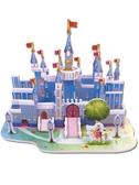 3d立體拼圖兒童益智積木玩具3-6-8歲