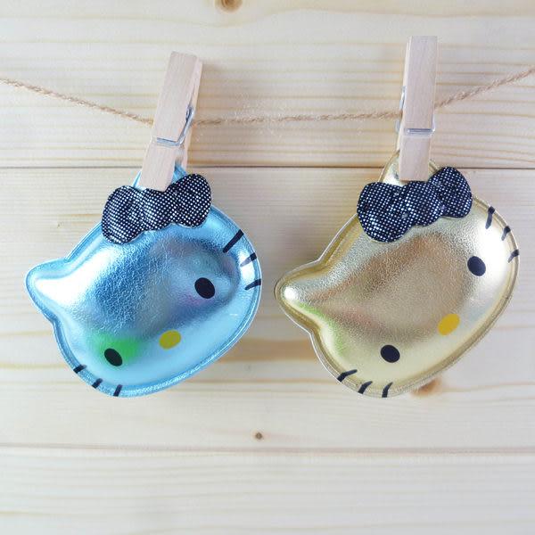 【震撼精品百貨】Hello Kitty 凱蒂貓~髮貼 臉型髮飾 藍/香檳【共2款】