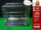 狗籠 兔籠 貓籠 狗屋 【空間特工】寵物窩 兩尺白鐵 博美狗 全新狗籠不鏽鋼摺疊2尺
