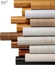 【免運】波音軟片加厚防水自粘墻紙彩裝膜舊家具衣柜書桌翻新貼紙木紋貼紙