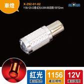 1156-12V-33燈-紅光-6.6W-800流明-185*52mm(X-292-01-02)