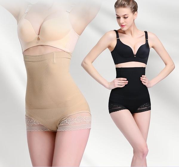 束腰高腰提臀雙層收腹褲薄款修復束腰內褲女夏季  - janm0010
