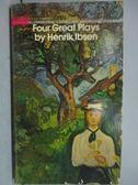 【書寶二手書T7/原文小說_LPE】Four Great Plays by Henrik Ibsen