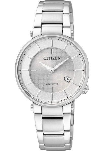 【刷卡分期零利率】CITIZEN光動能女錶EW1790-57A藍寶石玻璃/不鏽鋼材質 30.0mm 星辰公司保固兩年