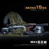 98k絕地求生鋼將m24狙擊水彈槍手動拉栓發射模型玩具槍 熊熊物語 熊熊物語