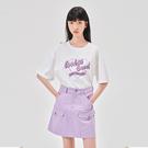 套裝 印花刺繡五分袖短裙套裝RN0052...