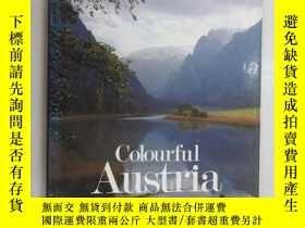 二手書博民逛書店英文書罕見Colourful Austria Pinguin(共