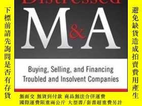 二手書博民逛書店The罕見Art Of Distressed M&a: Buyi