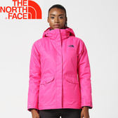 【The North Face 女款 兩件式化纖外套《粉》】364979M/戶外運動/防風透氣★滿額送