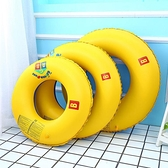 救生圈 游泳圈兒童成人男女水上玩具漂浮成人網紅親子中大童大人加厚加大