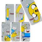 Adventure time 探險活寶 iPhone 6/6s 可愛透明彩繪保護軟套-夥伴系列