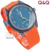 Q&Q SmileSolar 太陽能手錶 春夏玩色系列-009 橙橘捏 男錶 女錶 中性錶 RP10J009Y