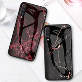 大理石 紅米 5 Plus 紅米6 手機殼 矽膠軟邊 保護套 彩繪 玻璃殼 手機套 全包 防摔 保護殼