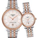 TISSOT 天梭 CARSON 都會品味紳士機械錶(T1224072203101)40mm
