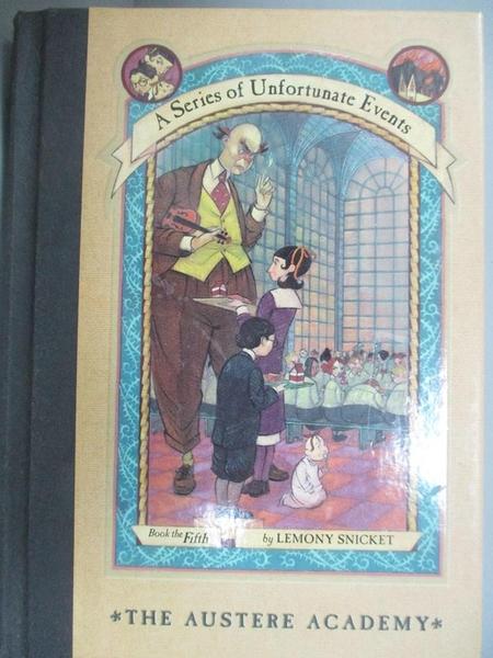【書寶二手書T3/原文小說_GBO】THE AUSTERE ACADEMY_Snicket, Lemony/ Helqu