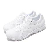 Mizuno 慢跑鞋 Maximizer 22 白 銀 男鞋 運動鞋 【PUMP306】 K1GA2002-01