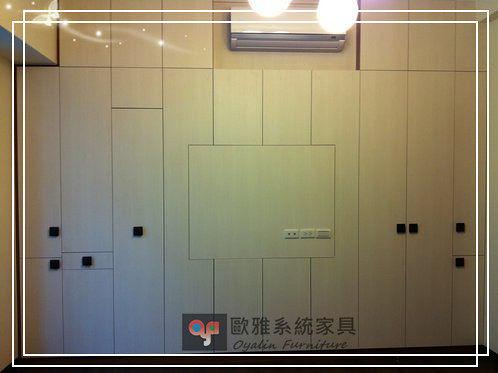 【歐雅系統家具】系統家俱 系統收納櫃 衣櫥設計 &折疊式燙衣板 高身櫃五金搭配 特價 37646