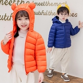 兒童棉服女 棉衣小孩冬裝衣服寶寶輕薄兒童羽絨棉外套男女小童棉襖冬【快速出貨八折搶購】