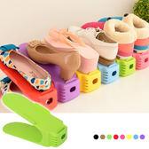 一體式鞋架 簡易鞋子收納架 馬卡龍鞋架 顏色隨機 【C030】