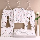 初生寶寶內衣套裝棉質新生兒冬季衣服0-3月用品秋冬滿月禮盒【快速出貨】