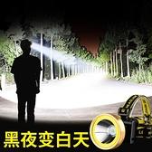 led頭燈 戶外led頭燈強光充電超亮頭戴式手電筒感應遠射夜釣照明家用礦燈【快速出貨】