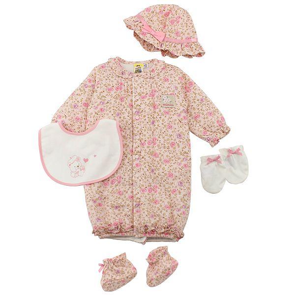 【愛的世界】鋪棉印花兩用嬰衣禮盒/3~6個月-台灣製-  ---禮盒推薦
