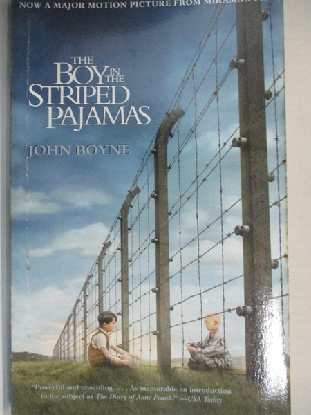 【書寶二手書T1/原文小說_H43】The Boy in the Striped Pajamas_Boyne, John