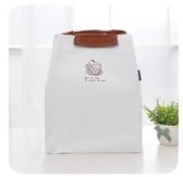 手提包餐盒便當盒帆布便當包飯盒袋手提包 日本手提小學生裝盒飯布袋子快速出貨