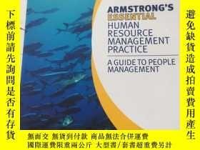 二手書博民逛書店Armstrong s罕見Essential Human Resource Management Practice