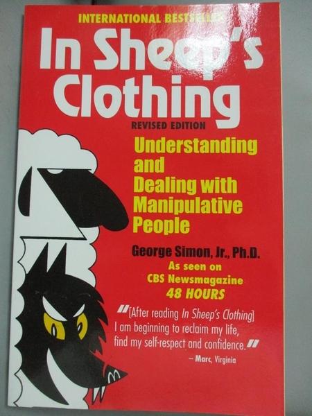 【書寶二手書T5/兩性關係_LQD】In Sheep's Clothing: Understanding and Dea
