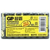 GP 超霸 (黑)超級環保碳鋅電池 4號 16入