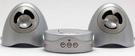 Digital Olive 雙聲道攜帶式多媒體MP3喇叭 (可插SD卡及USB隨身碟)  銀色【刷卡含稅價】】