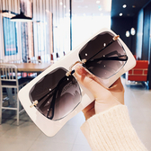 太陽鏡 2020新品無框氣質方形太陽鏡女韓版網紅款圓臉墨鏡漸變片潮人眼睛 4色