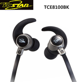 T.c.star 連鈺 防脫落eargels無線藍牙運動耳麥 TCE8100BK