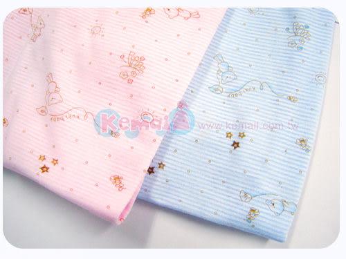 【奇買親子購物網】KUKI BIRD 可愛熊印花短袖套裝(粉)