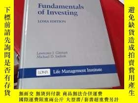 二手書博民逛書店Fundamentals罕見of Investing:投資的基本