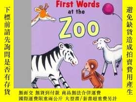 二手書博民逛書店Curious罕見George First Words At The ZooY256260 H.a. And