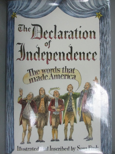 【書寶二手書T3/百科全書_YBC】The Declaration of Independence_United Sta