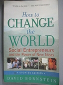 【書寶二手書T4/社會_JKZ】How to Change the World_Bornstein, David