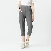 【中大尺碼】MIT超柔軟舒適8分褲