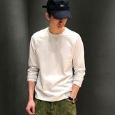 【熊貓】春夏內搭打底衫男士日系白色簡約T恤