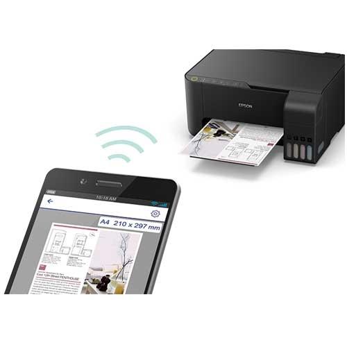 Epson 愛普生 L3150 高速Wi-Fi 列印/影印/掃描功能三合一 A4連續供墨 列表機 印表機 (C11CG86506)