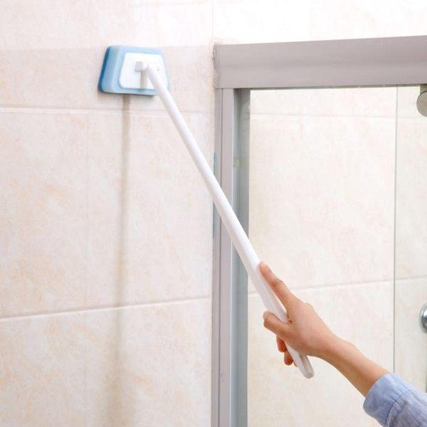 [超豐國際]浴室長柄海綿擦刷子墻壁清潔刷浴缸海棉刷地磚瓷磚刷海綿塊