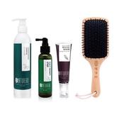 【Naturero植淨林】 強健洗髮露300ml 任1+瞬效修護髮絲精華50ml+舒活頭皮精華噴霧120ml